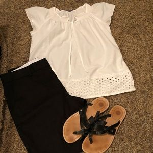 Perfect white summer top